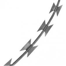 Проволока колючая СББ(спиральный барьер безопасности)